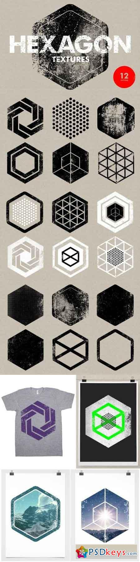 Hexagon Textures