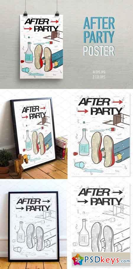 A poster on the topic of Afterparty 2137360