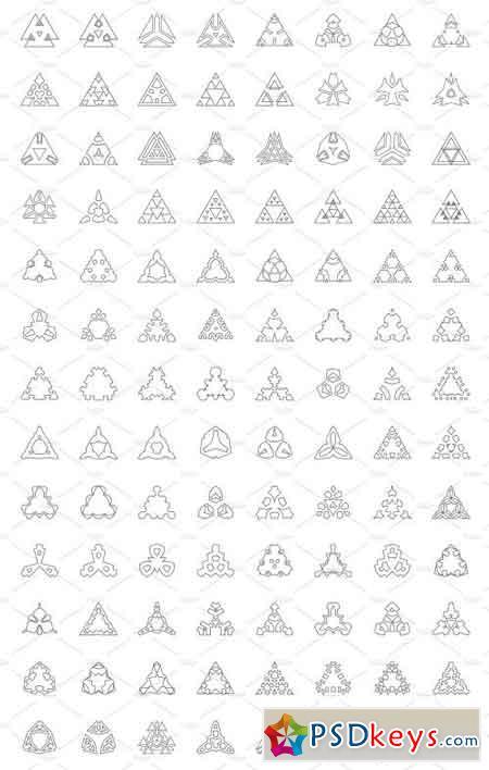 Logo Creator Triangle Shapes Edition 2466434