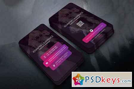Fashion Designer Business Card PSD