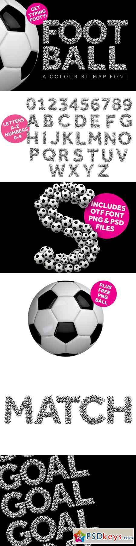 Football - Color OTF font 2532947