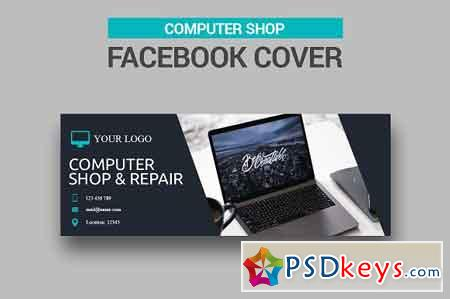 Computer Shop Facebook Cover 2532841