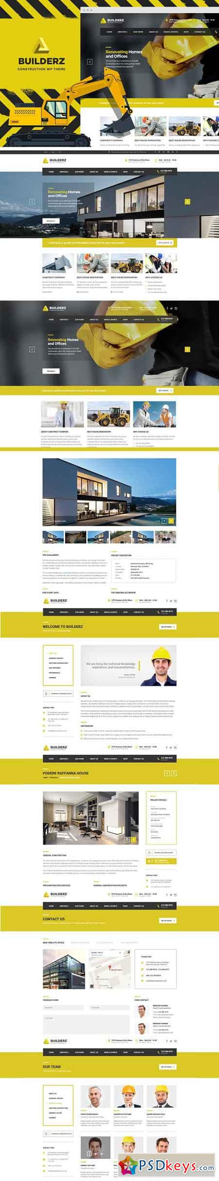 Builderz - Construction WP Theme 2533249