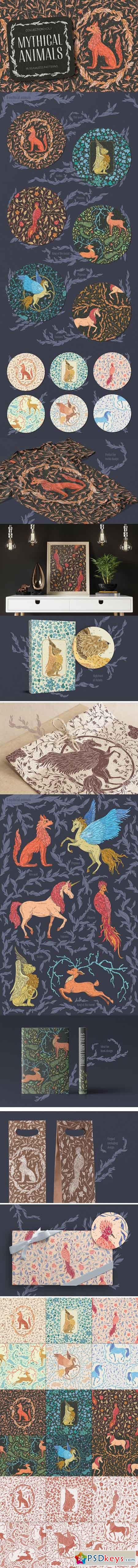 Mythical Animals patterns 2380531