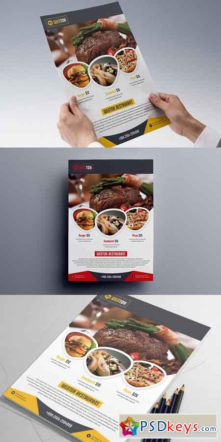 Restaurant Flyer 2381301