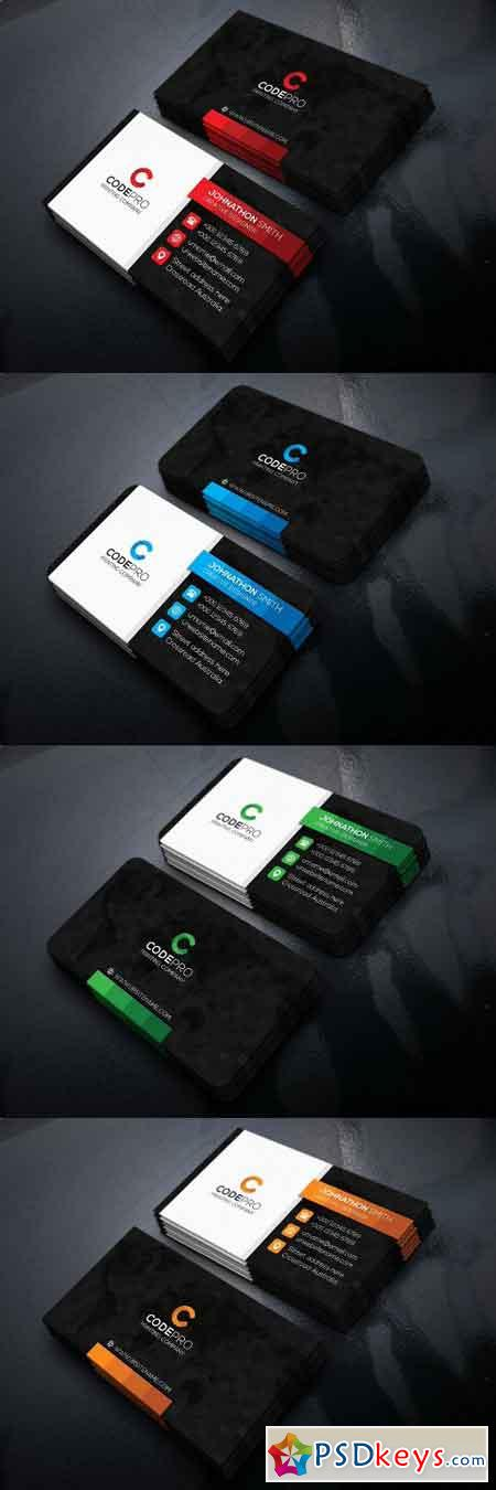 Pixelate Business Card 2133100