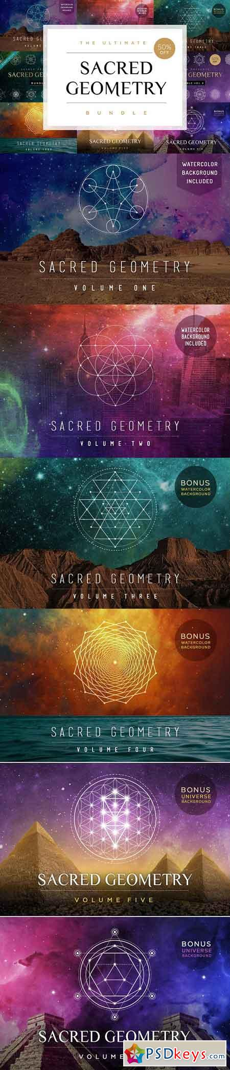 Ultimate Sacred Geometry Bundle 1855071