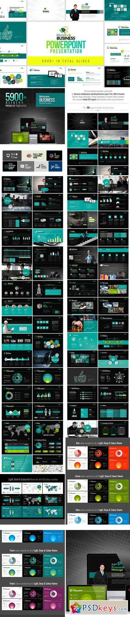 MultiEco Business Template 2382560