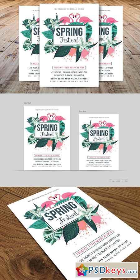 Spring Festival Flyer 2380550
