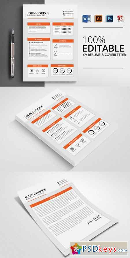 Office Word CV Resume 2506272