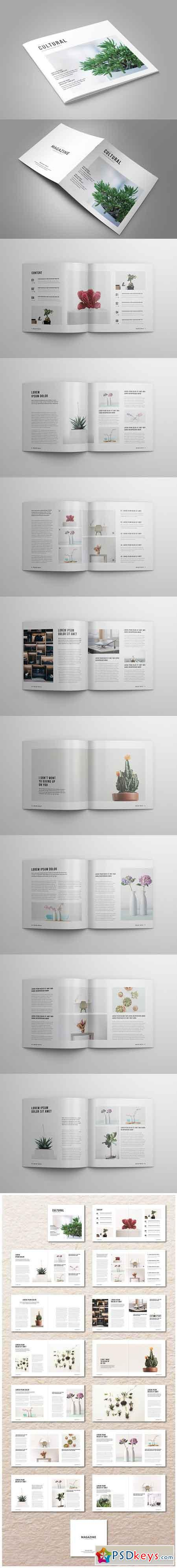 Square InDesign Magazine 2507374
