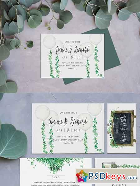 Rustic Postcard Save the Date 2529847