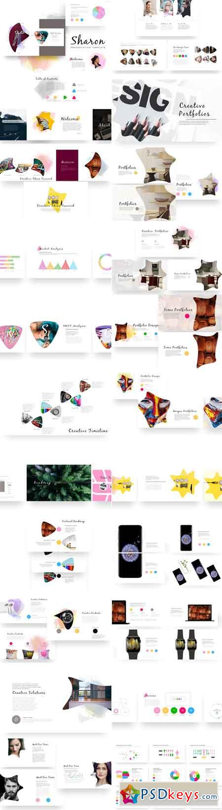 Sharon PowerPoint Template 2506054