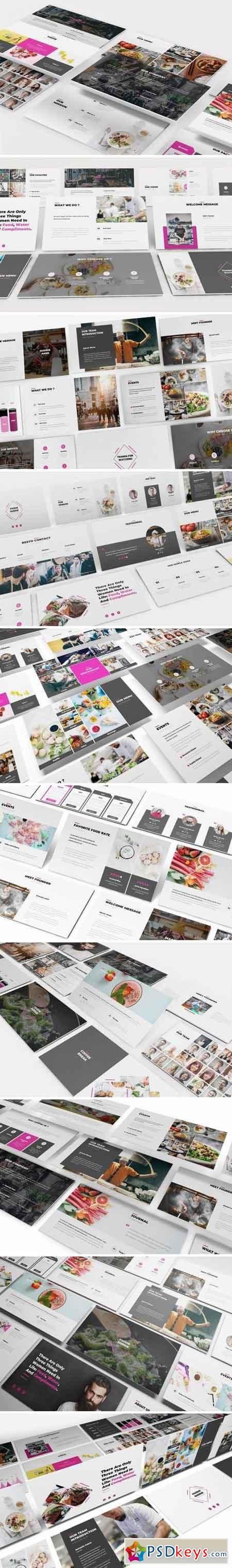 Foodie Duddie Powerpoint Template