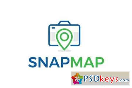 Snap Map - Logo Template