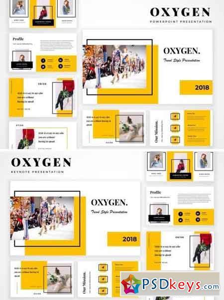 Oxygen Powerpoint & Keynote Presentation