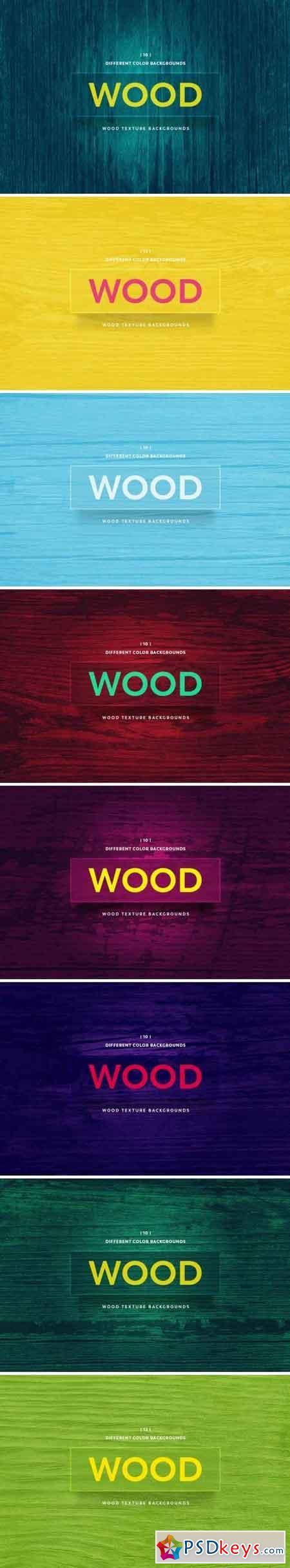 Wood Texture Backgrounds Bundle