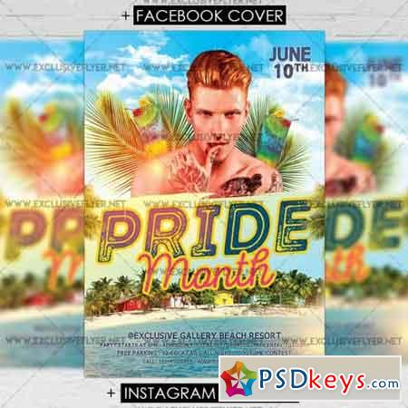 Pride Month – Premium A5 Flyer Template