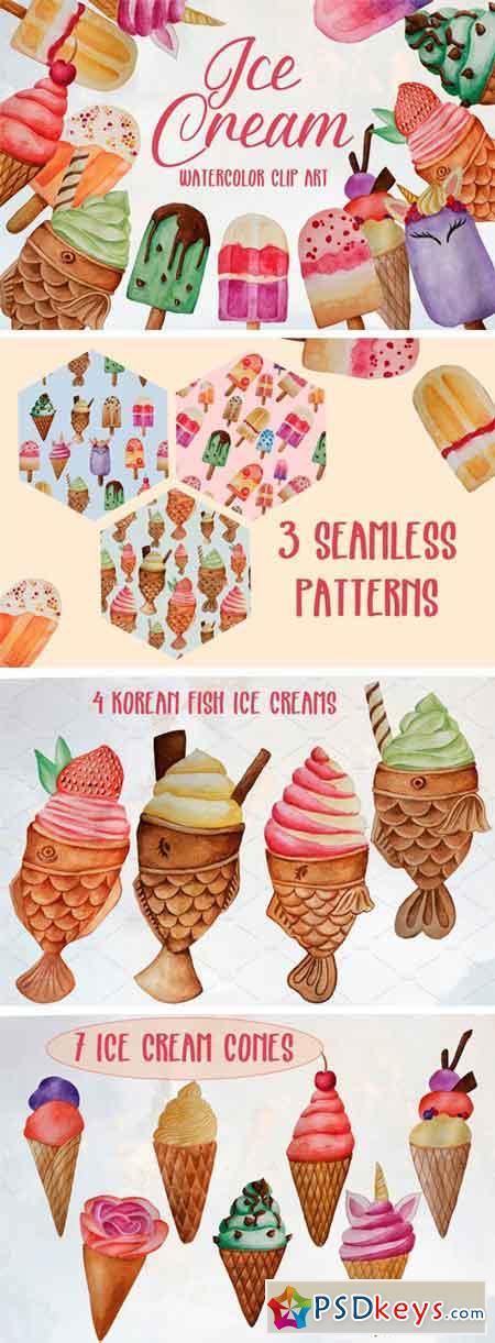 Ice Cream Clip Art Set 2354311