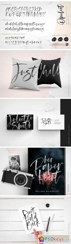 Opulent Font + SVG 2381534