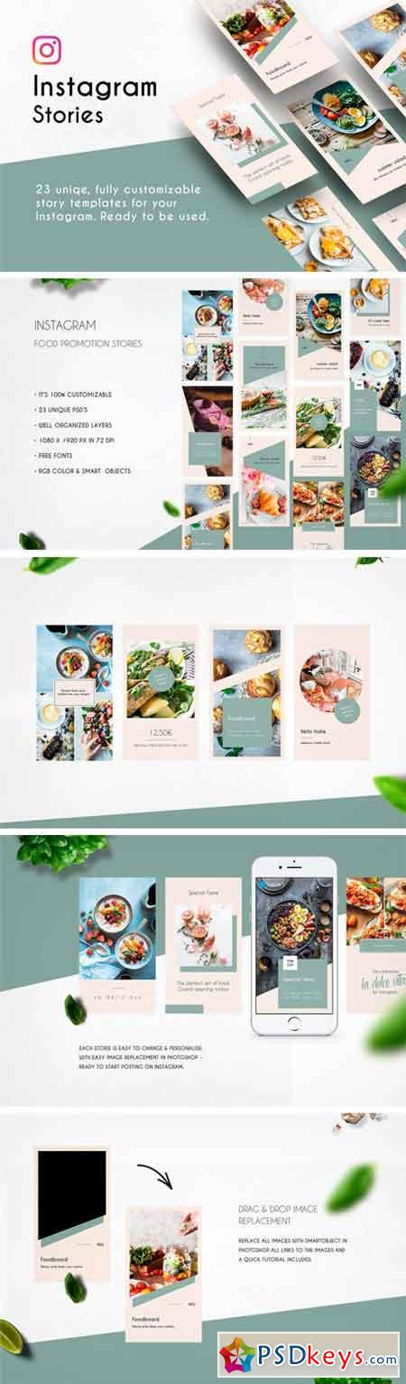 Instagram Stories Template Light 2395938