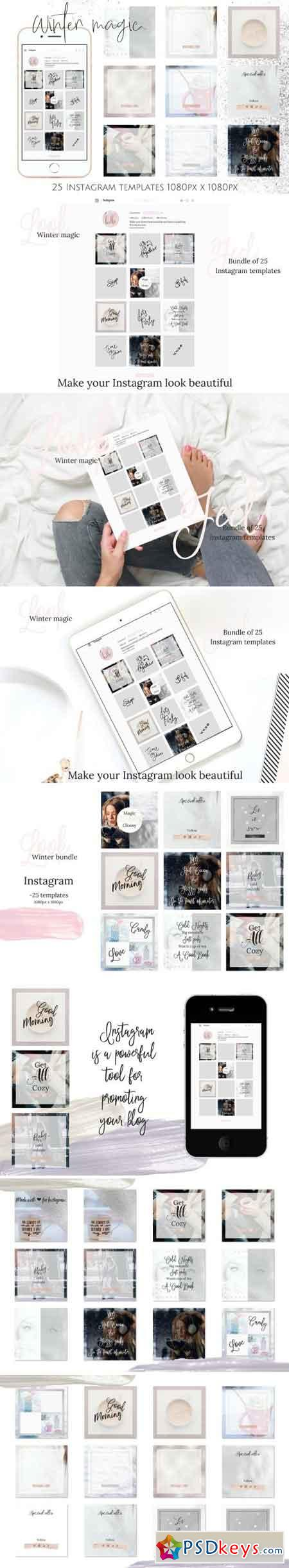 Instagram winter bundle 2128513