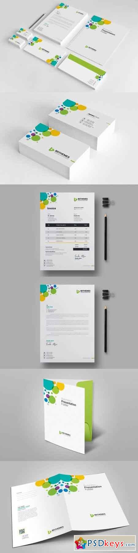 Business Stationery Template 08