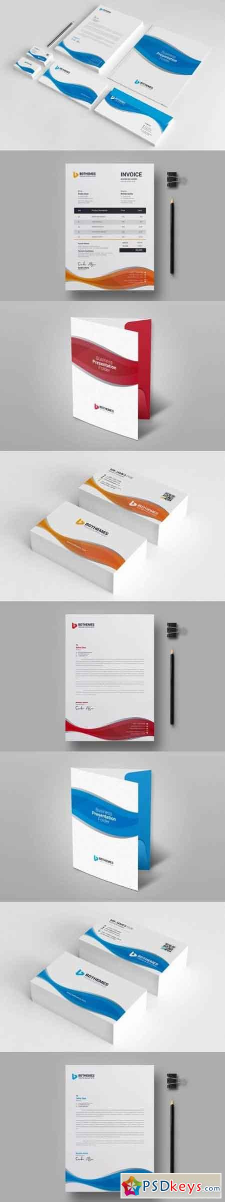Business Stationery Template 07