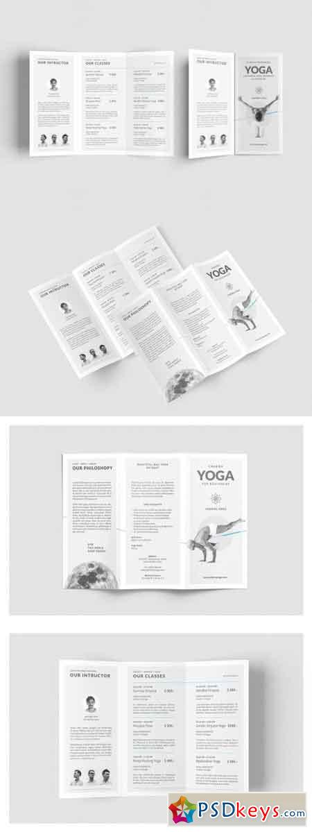 Yoga Classes Brochure 2576953