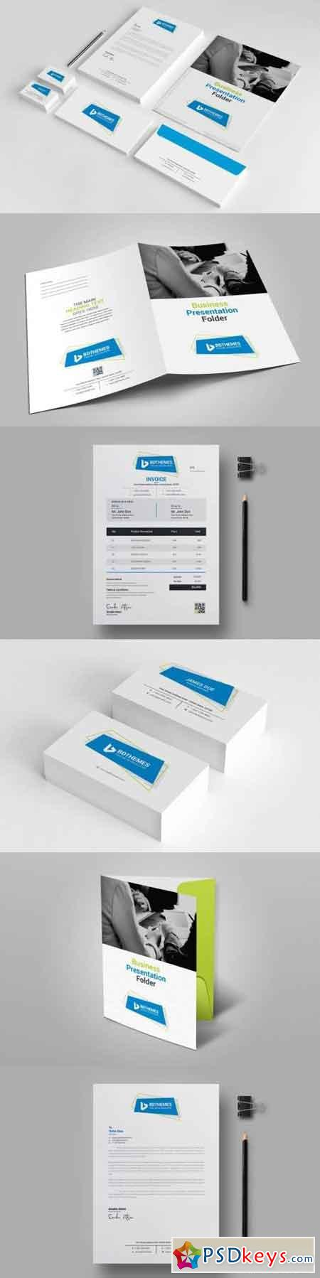 Business Stationery Template 06