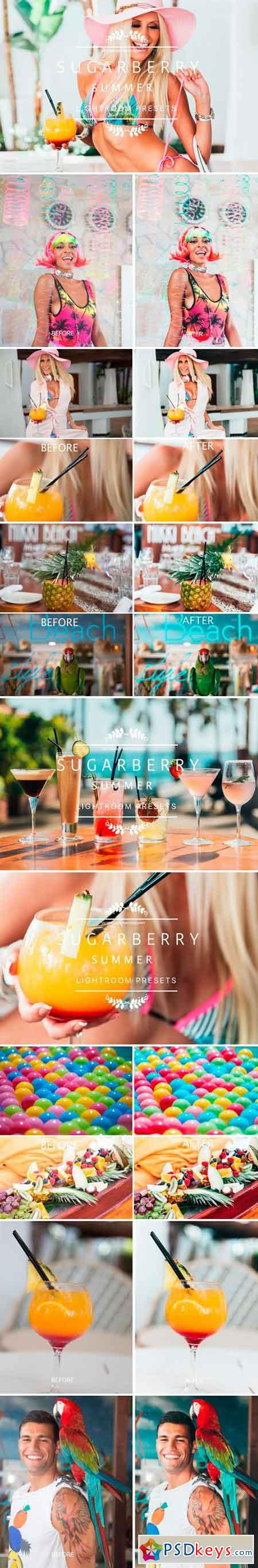 Sugarberry Summer Lightroom Presets 2456454