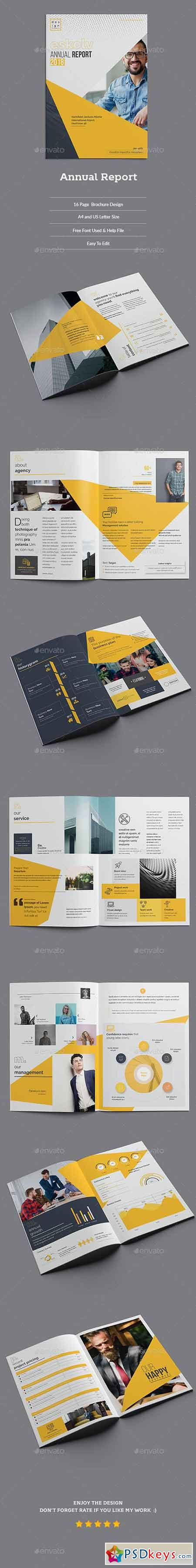 Annual Report Template 21966507