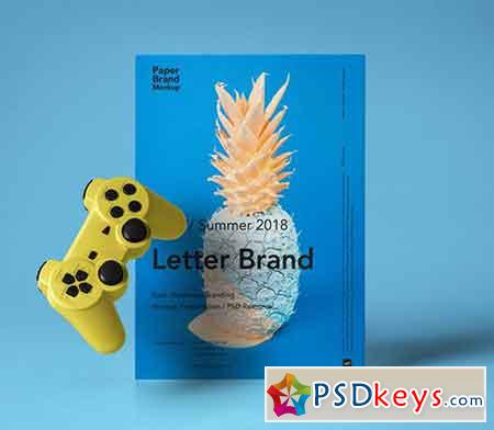 Paper Brand Mockup Vol 7