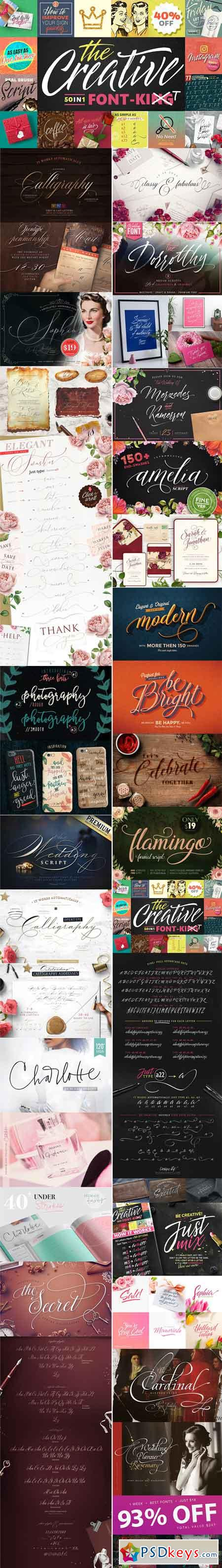 1 WEEK BEST FONTS 2576531