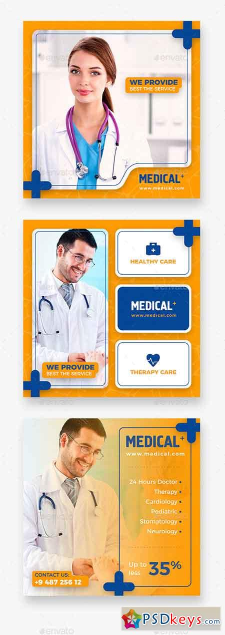 Medical Instagram Banner 21952982