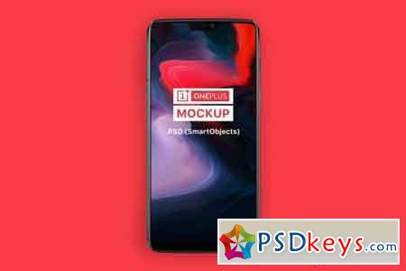 OnePlus 6 Android Phone Mockup