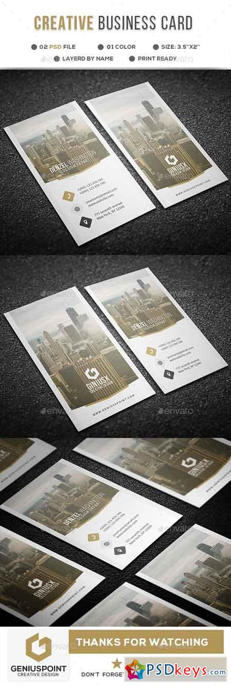 Creative Business Card 21889708