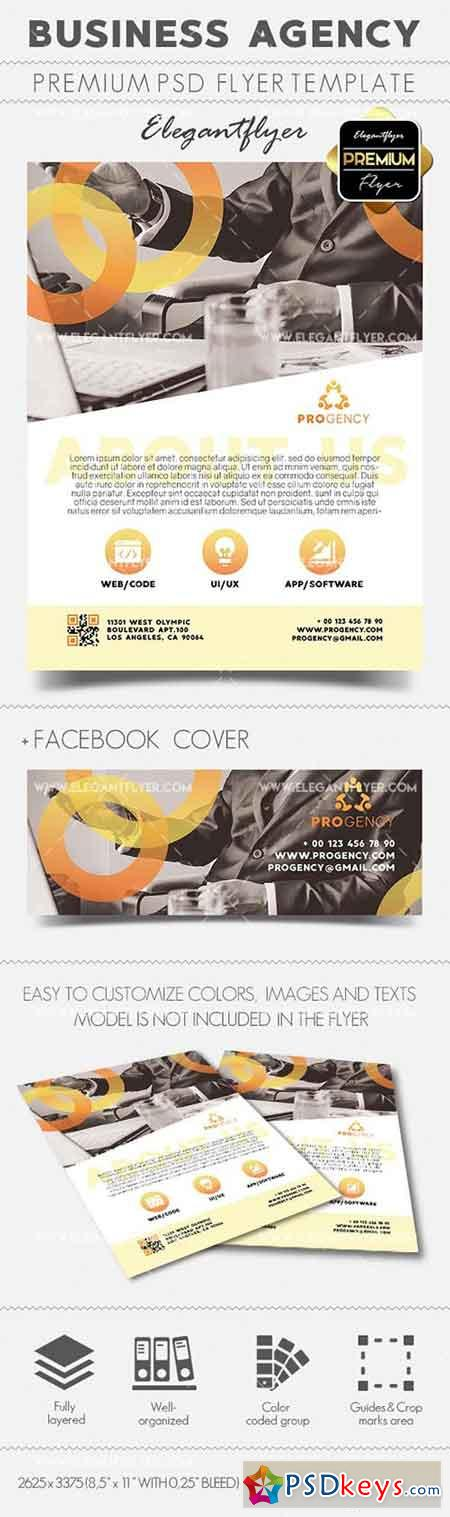 Business Agency – Flyer PSD Template