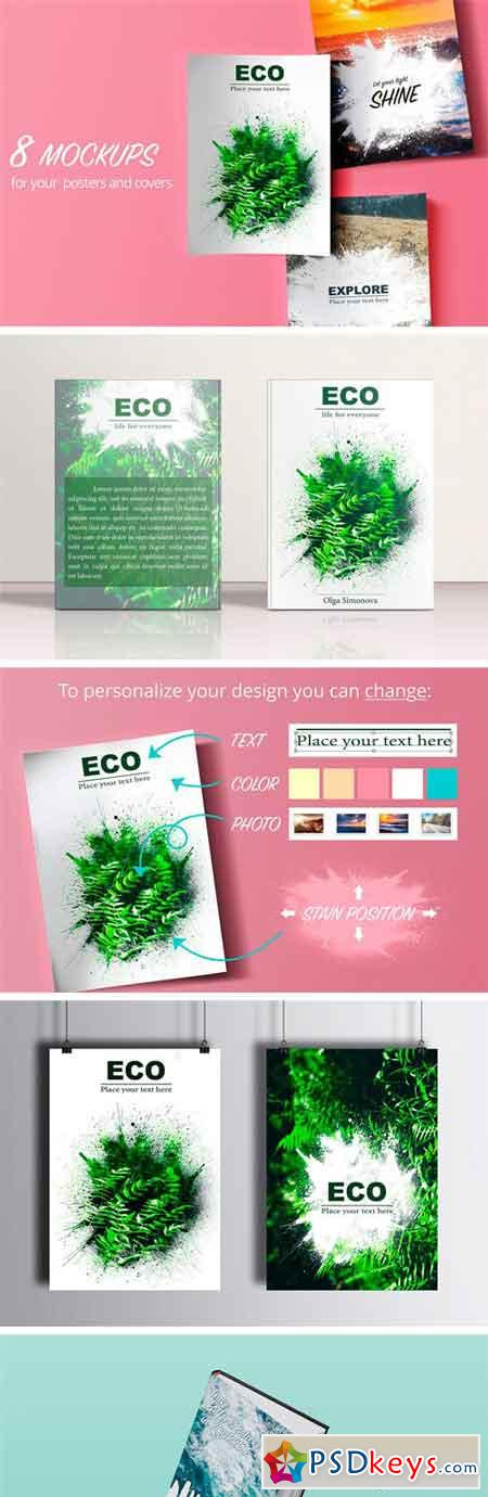 100% Editable Poster Templates 2394495