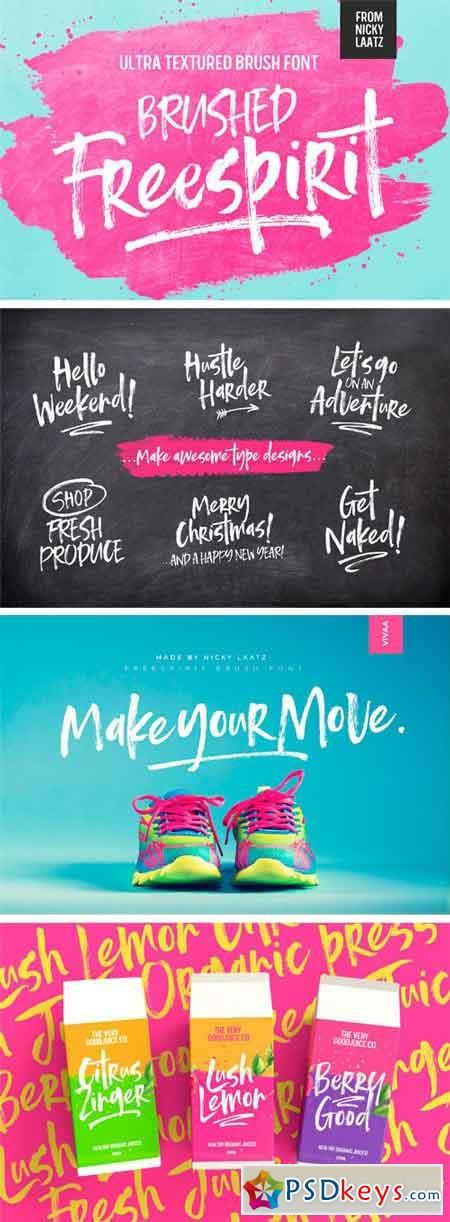 Freespirit Brush Fonts 2388056