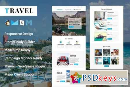 Travel - Responsive Email Template 2126664