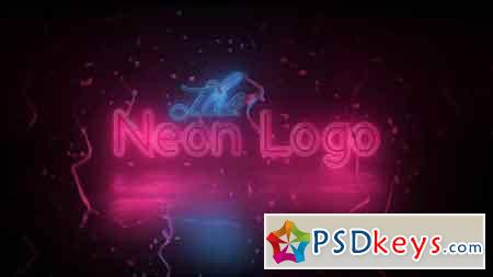 Neon Logo Reveal 86613 - After Effects Projects