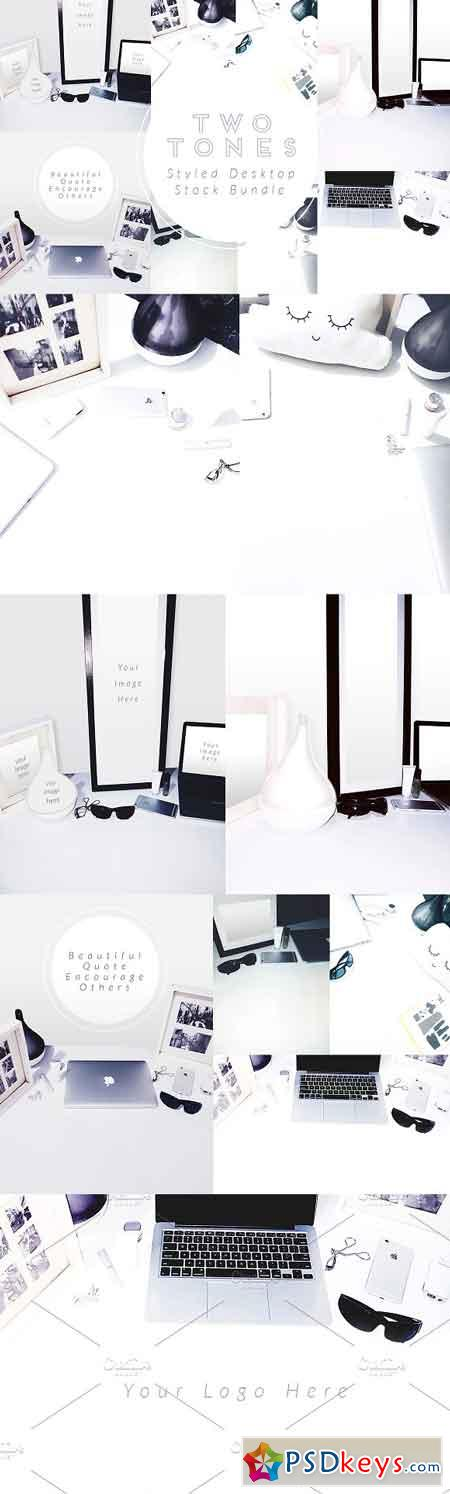 TwoTones Styled Desktop Stock Bundle 2578384