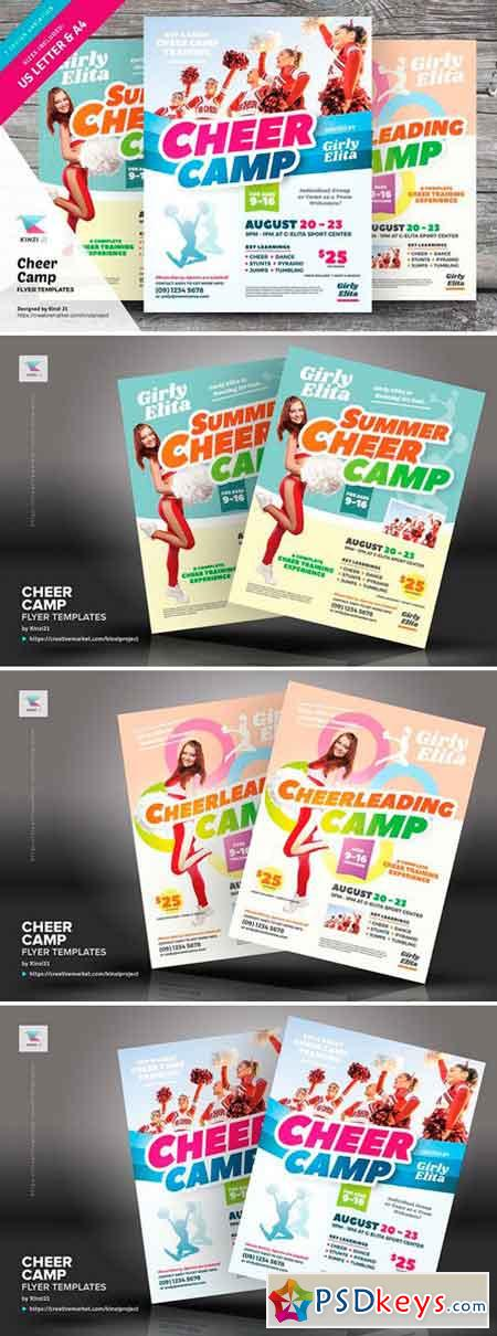 Cheer Camp Flyer Templates 2518088
