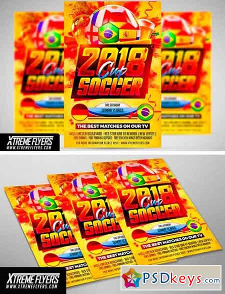Soccer World Cup Flyer 2517872
