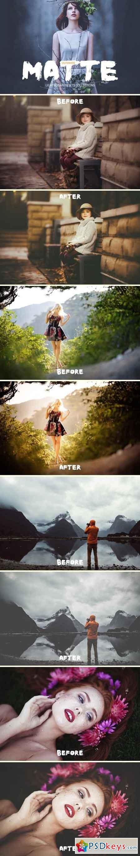 Ultimate Matte Lightroom Presets 1590268