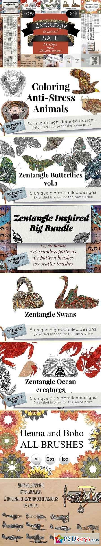 Zentangle inspired SALE 2127658