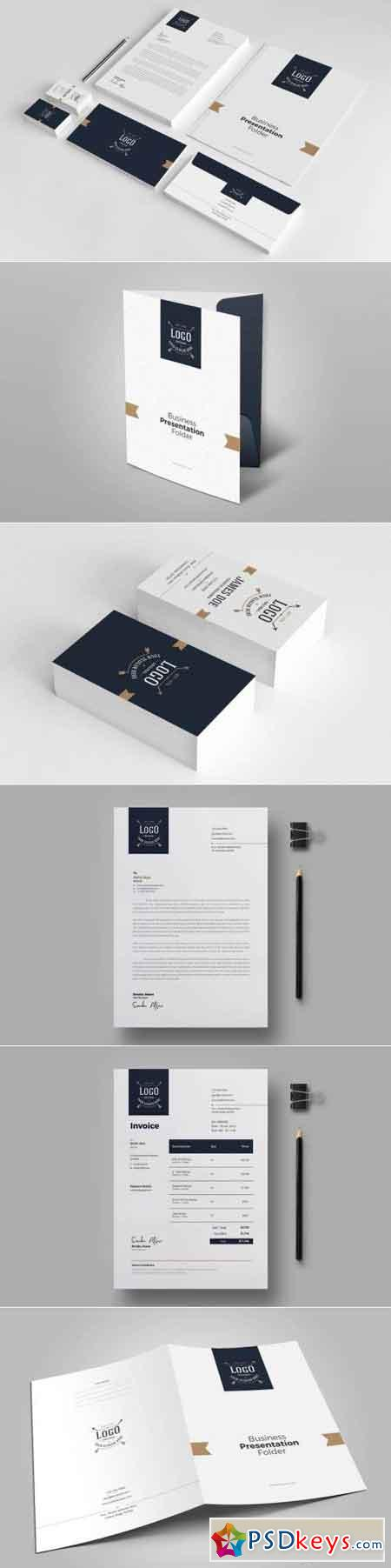 Business Stationery Template 10
