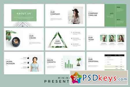 Minimal Presentation PowerPoint & Keynote Template