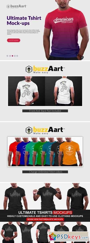 Ultimate Tshirt Mockups 2498272